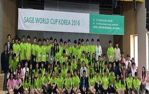 SAGE World Cup Korea 2016